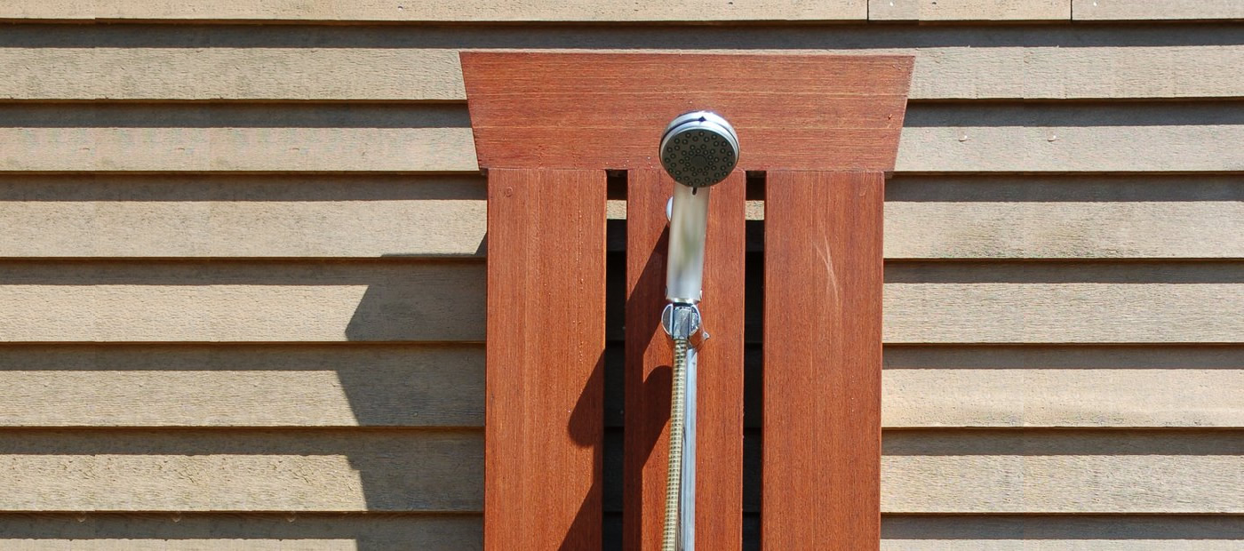 "Click On This Image To Learn More <p class=""alignright"">Outdoor Shower</p>"